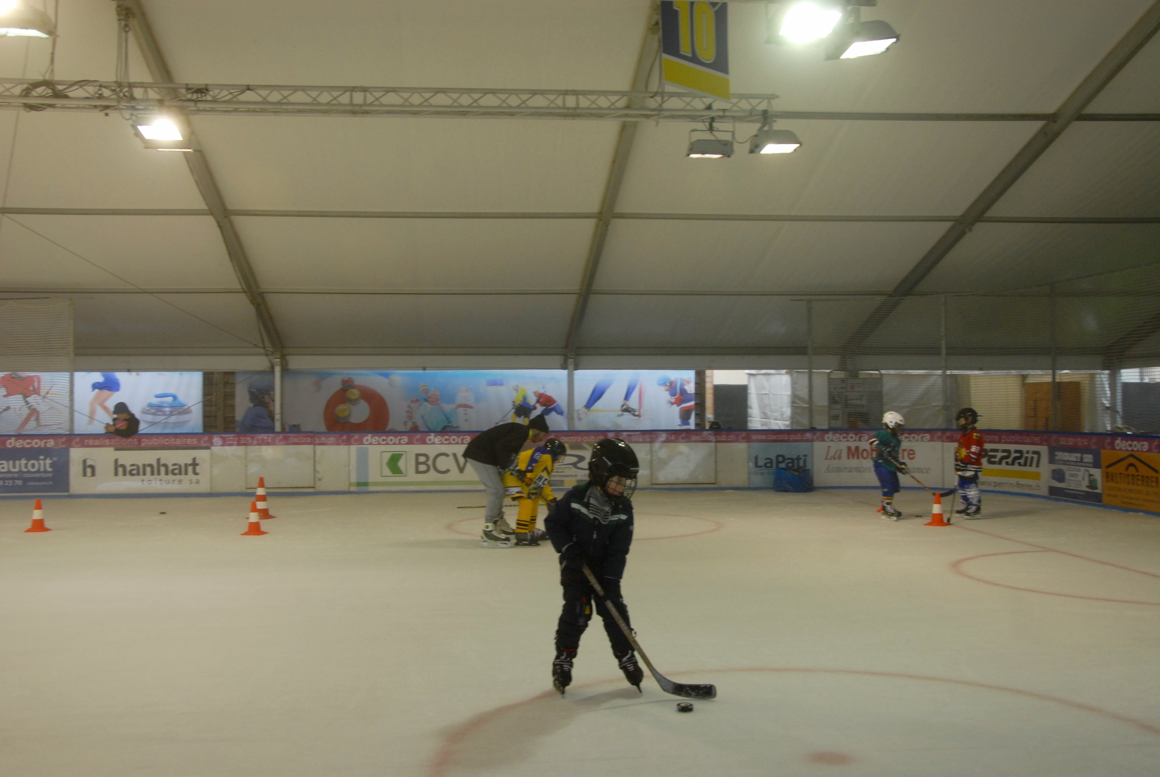 école de hockey 06.02.2016